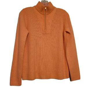 Tommy Bahama Women's Cashmere 1/4 Zip Sweater (S)